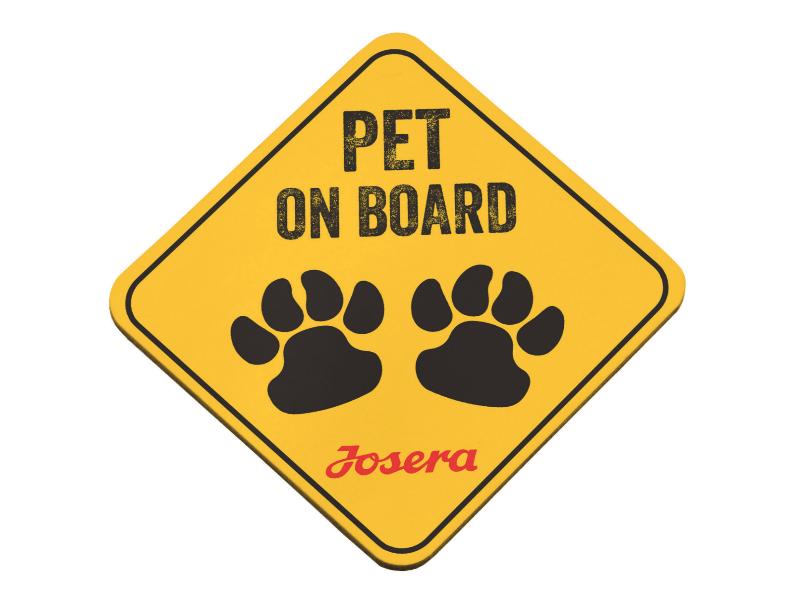 pet on board NAKLEJKA NA AUTO